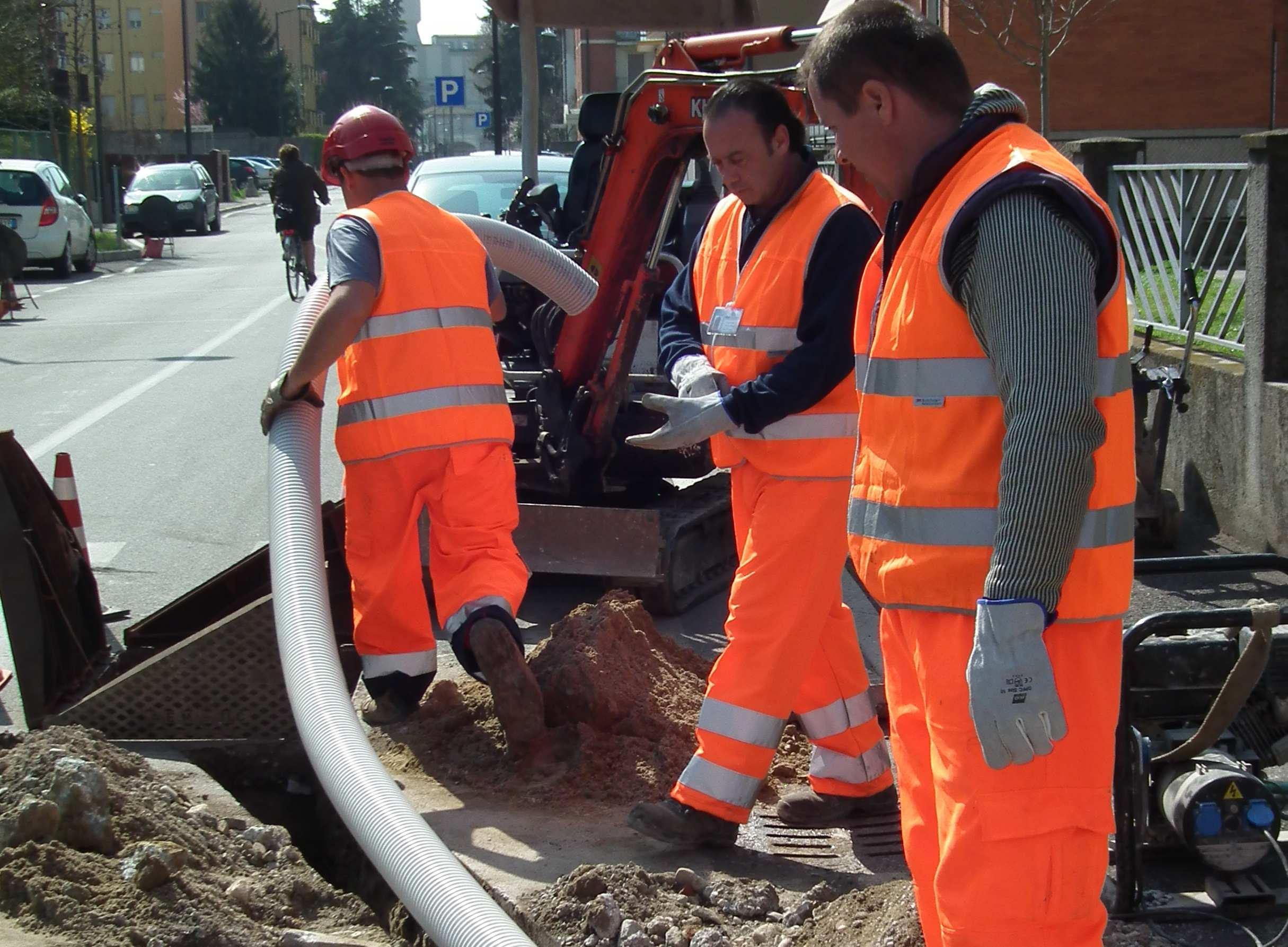 Schemi Elettrici Impianti Civili : La posa dei cavidotti elettro