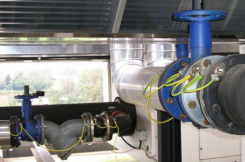 Che cosa deve essere collegato a terra elettro - Tubo gas interrato ...