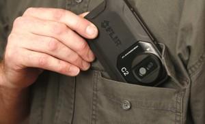 termocamera FLIR tascabile