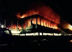 Associazione AICE e incendio Fiumicino