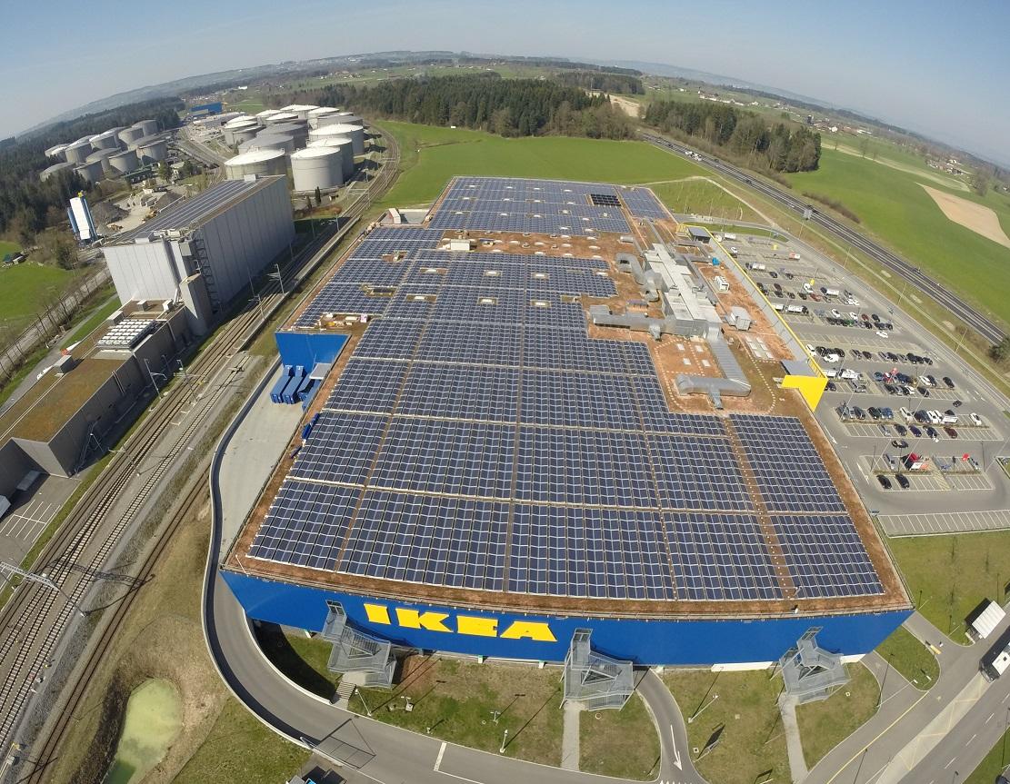 Ufficio Legale Ikea : Ibc solar fornisce a ikea il suo più grande impianto fotovoltaico