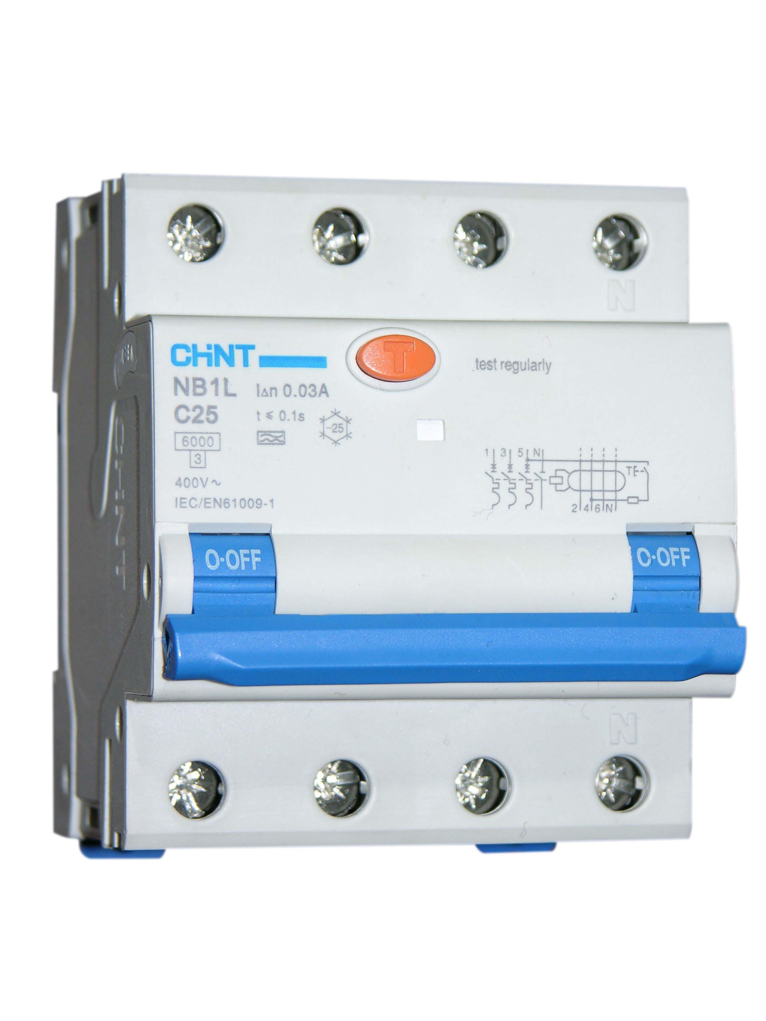 Schema Collegamento Differenziale Magnetotermico : Interruttore magnetotermico differenziale tetrapolare limpianto