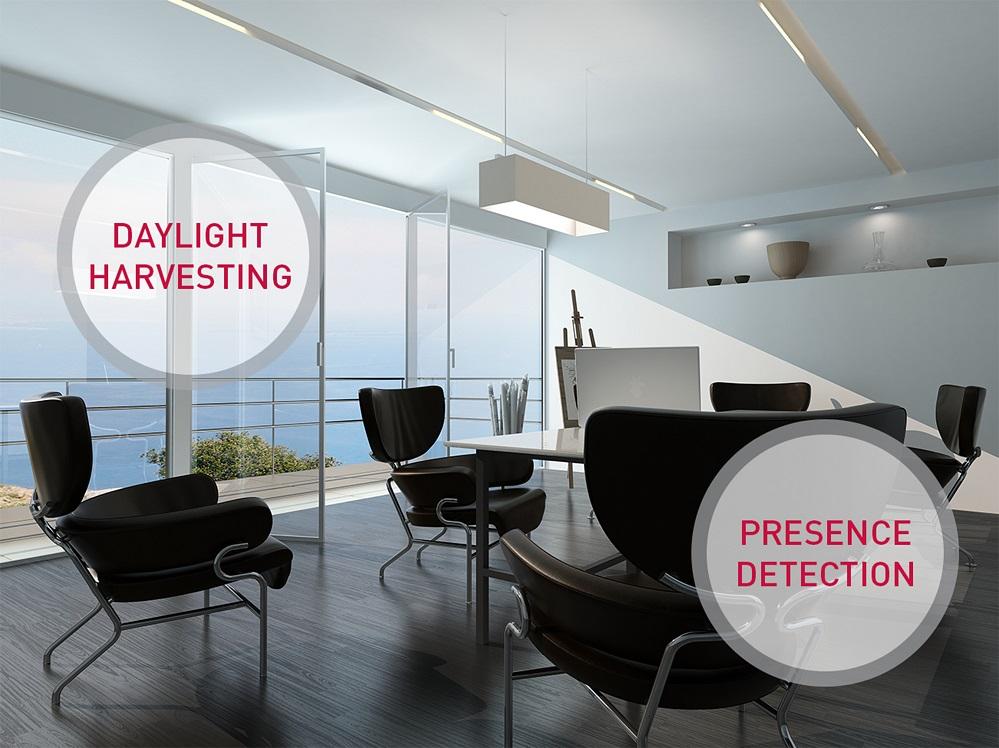 Driver e sensore per apparecchi di illuminazione elettro for Apparecchi di illuminazione per bungalow