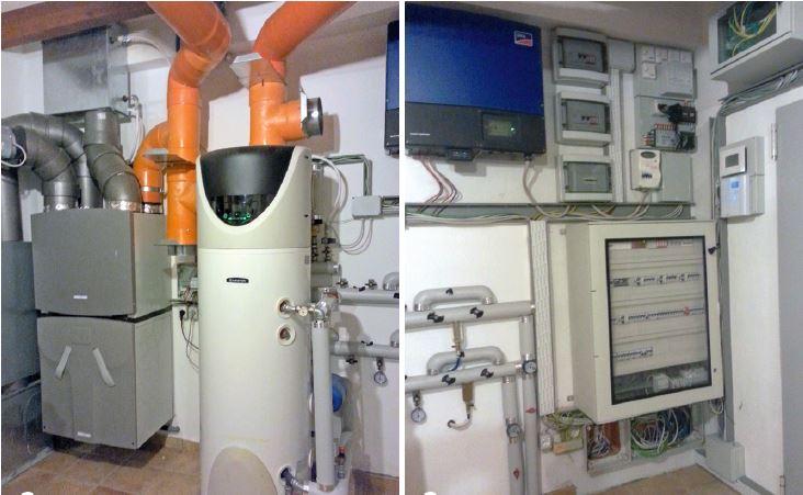 Una casa attiva domotica e senza gas elettro - Impianto gas casa costo ...