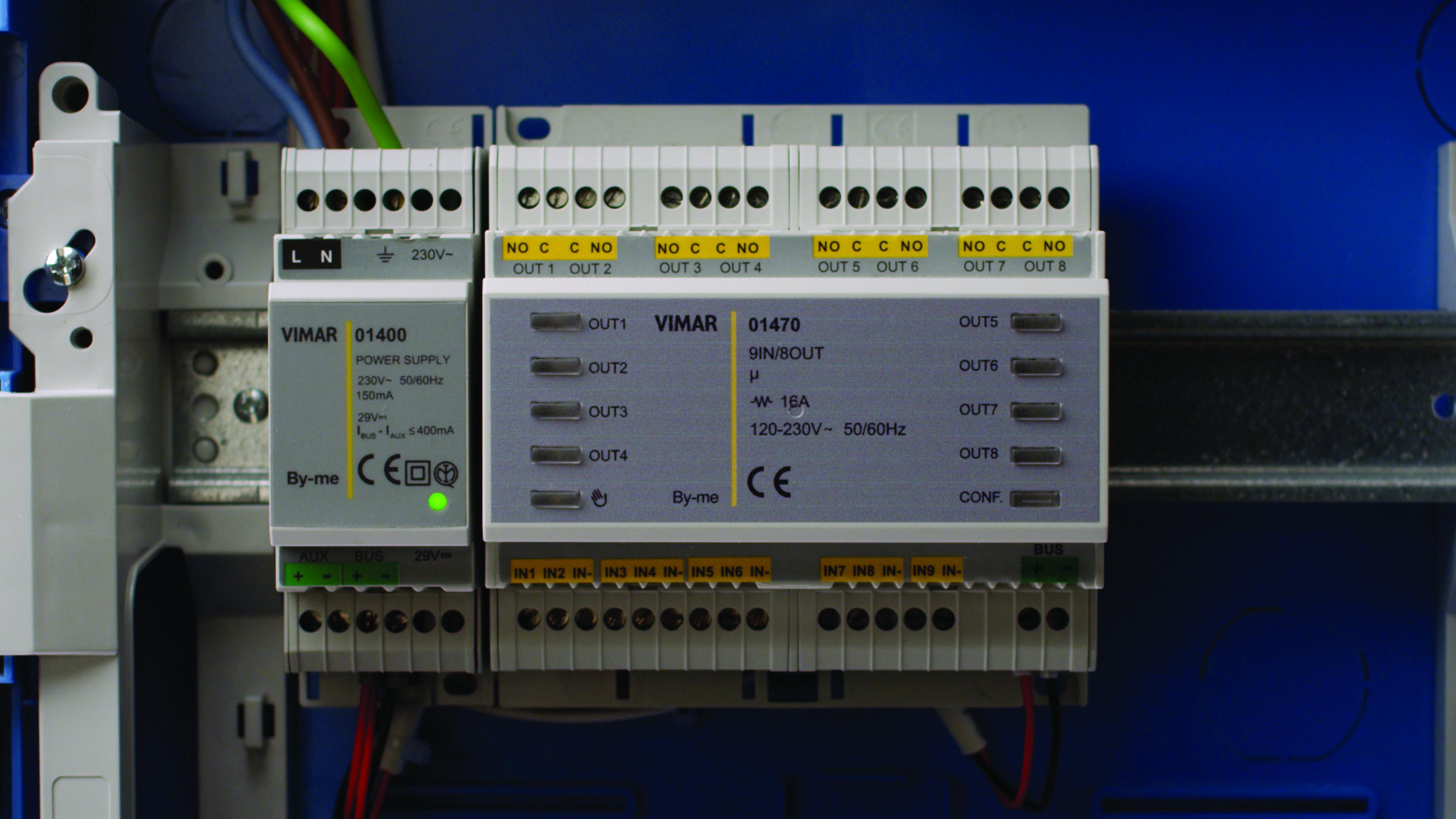 Schema Elettrico Domotica : Comfort e controllo con la domotica di vimar elettro