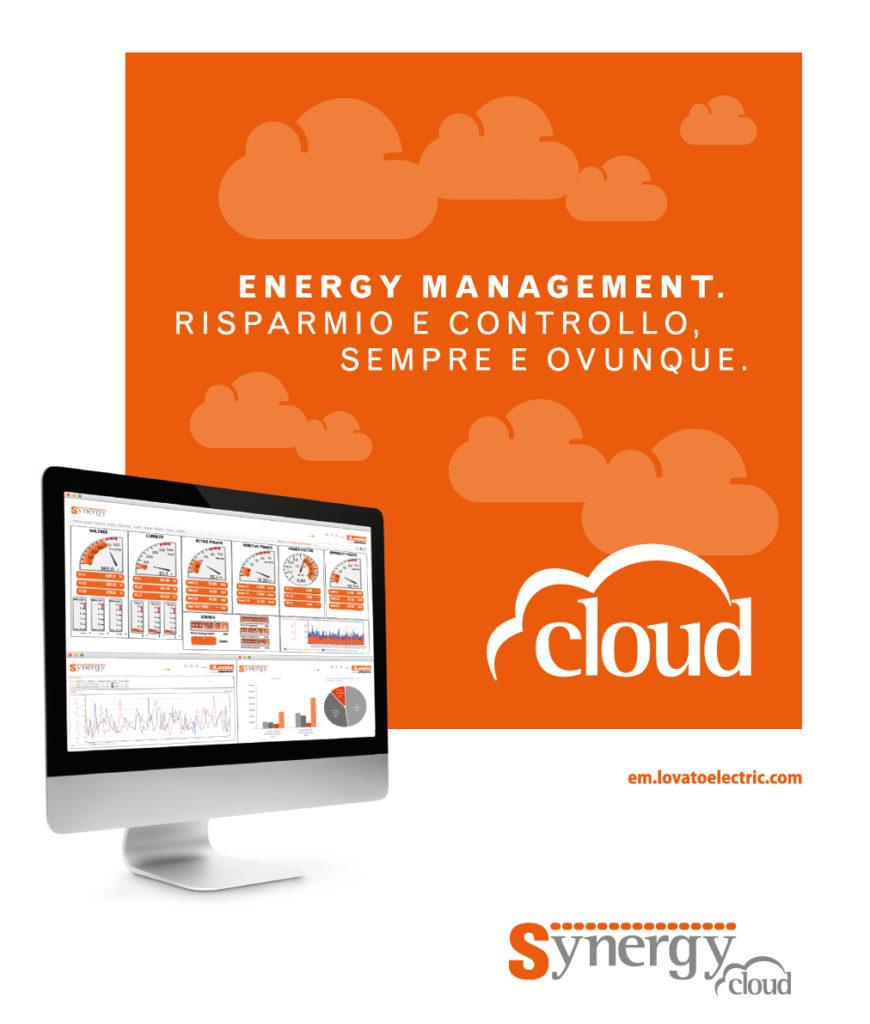 Synergy Cloud Lovato efficientemente energetico