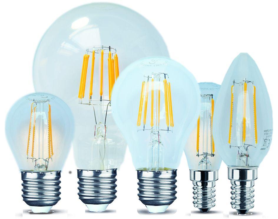 lampadine sms led filament le lampadine led filament a++ di sms sono ...