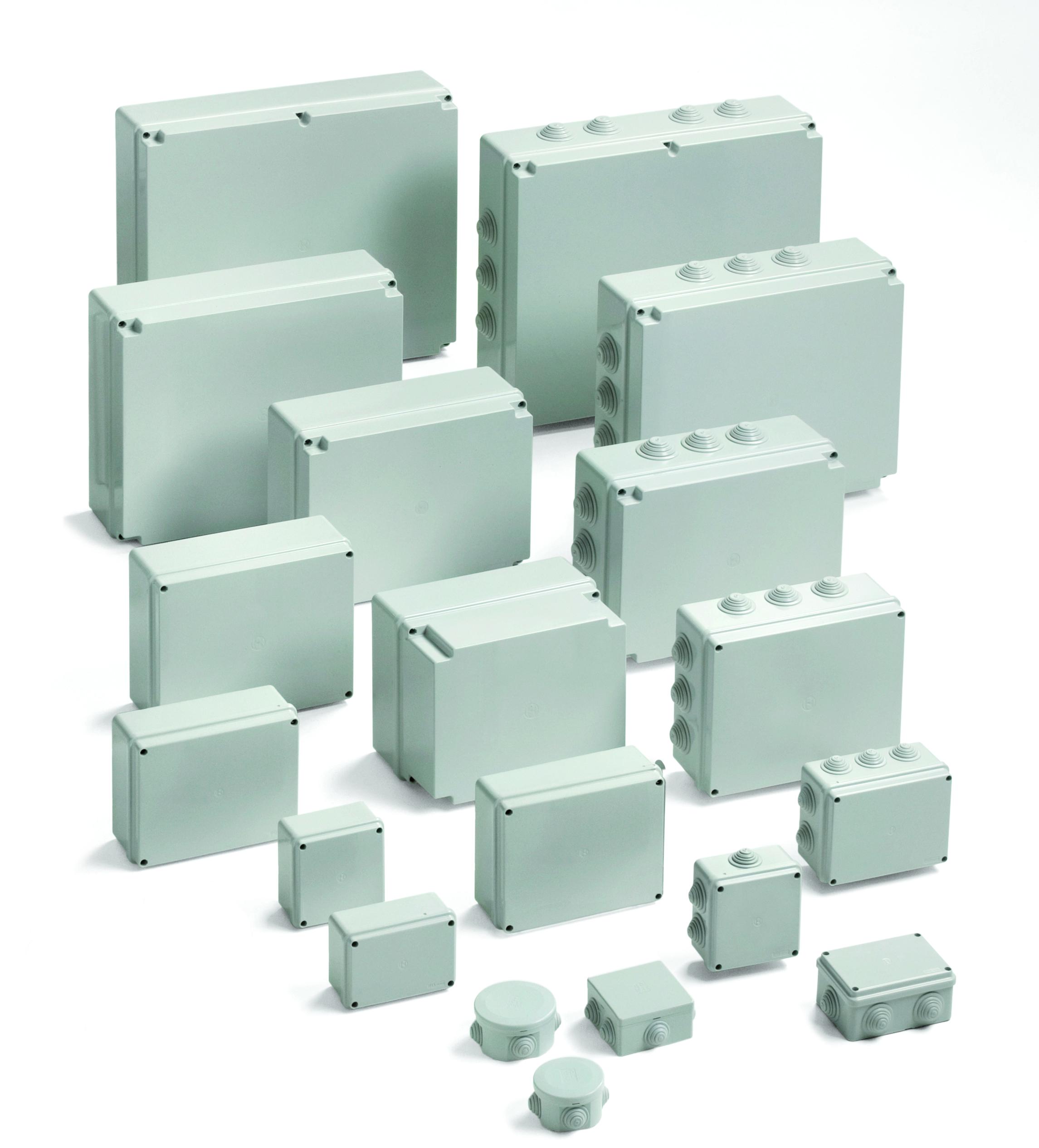 Cassette di derivazione da parete pico gwt 960 di bocchiotti for Elevata progettazione di casette