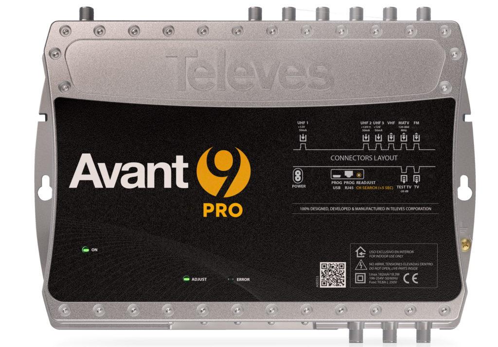 centrale TV Avant 9 Pro