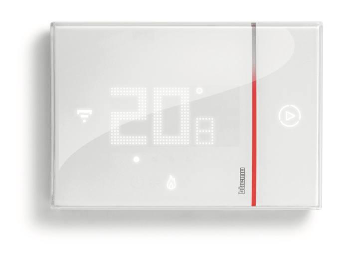 Termostato connesso con wi fi integrato smarther da bticino for Termostato living bticino