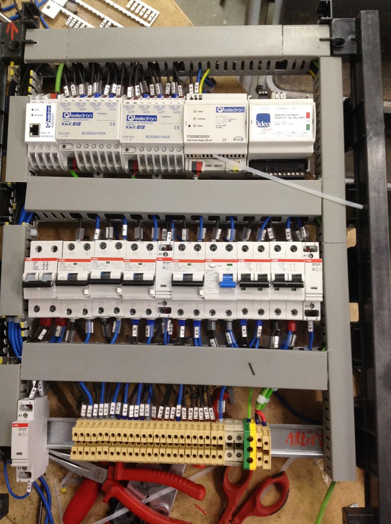 Schemi Elettrici Quadro : Quadro elettrico elettro
