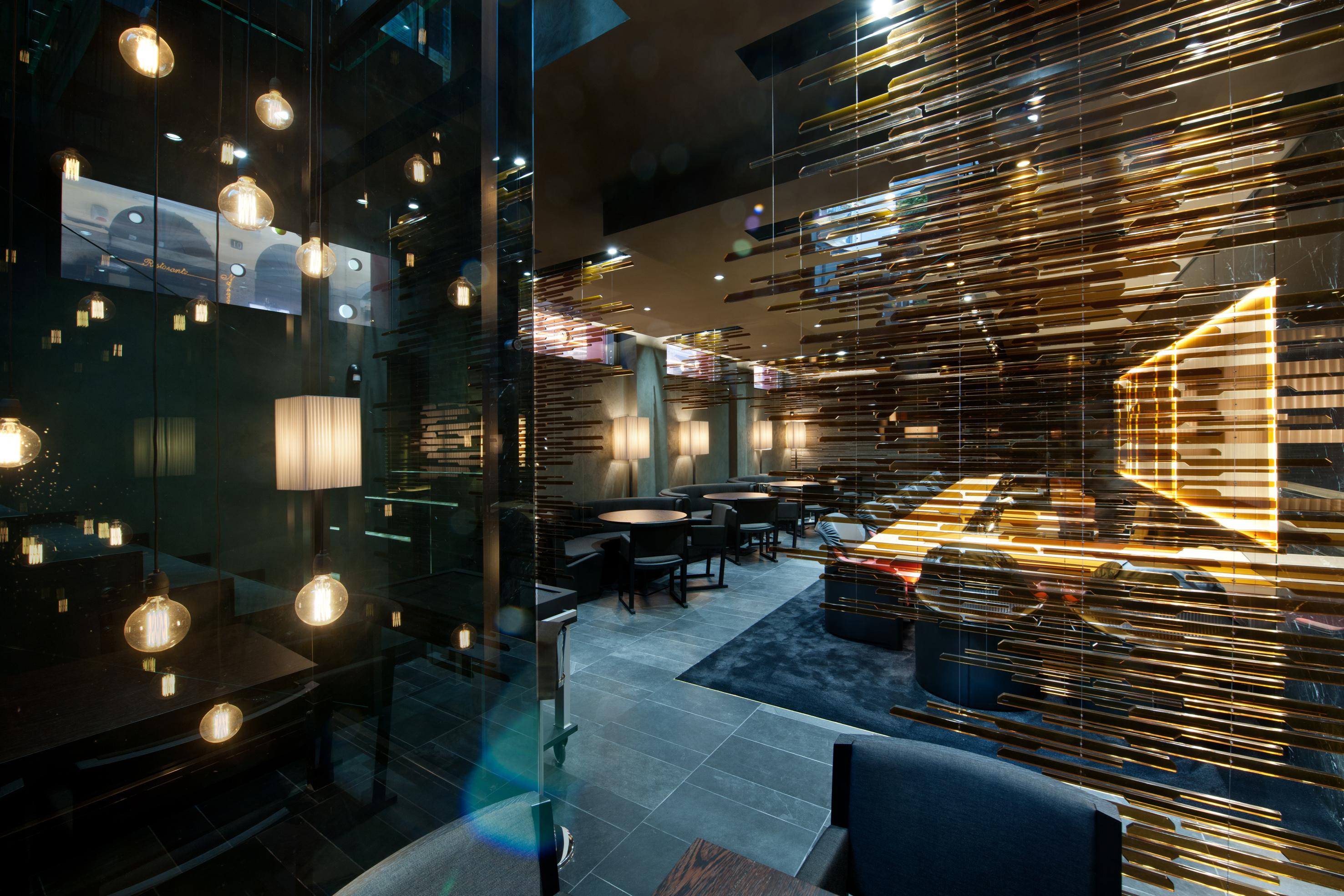 Progetto Illuminazione Ristorante : Come illuminare un ristorante lid design