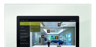 multimedia vimar touch screen