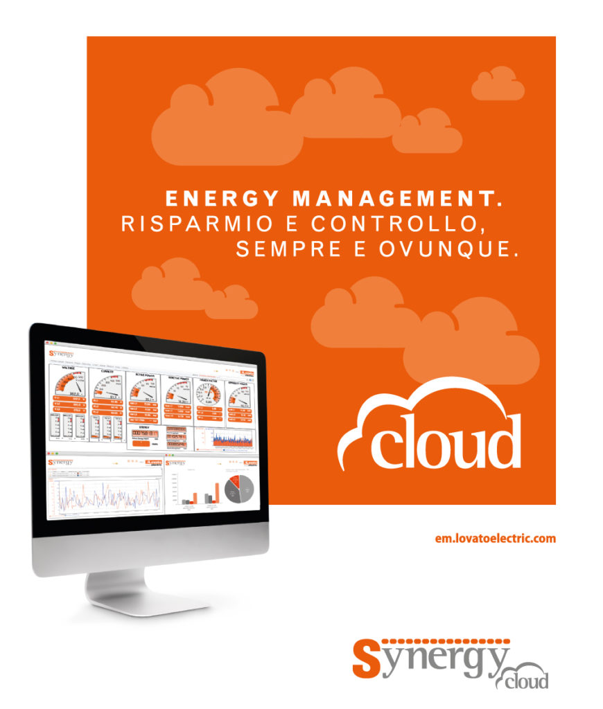 Synergy Cloud Lovato efficientemente energetico