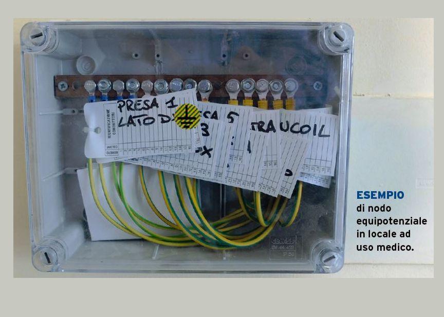 Rifacimento del piccolo quadro elettrico di un garage, obbligato in quanto il.