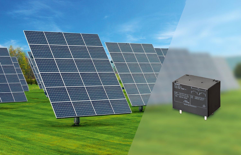 Relè di sicurezza g l a v dc per pannelli solari elettro