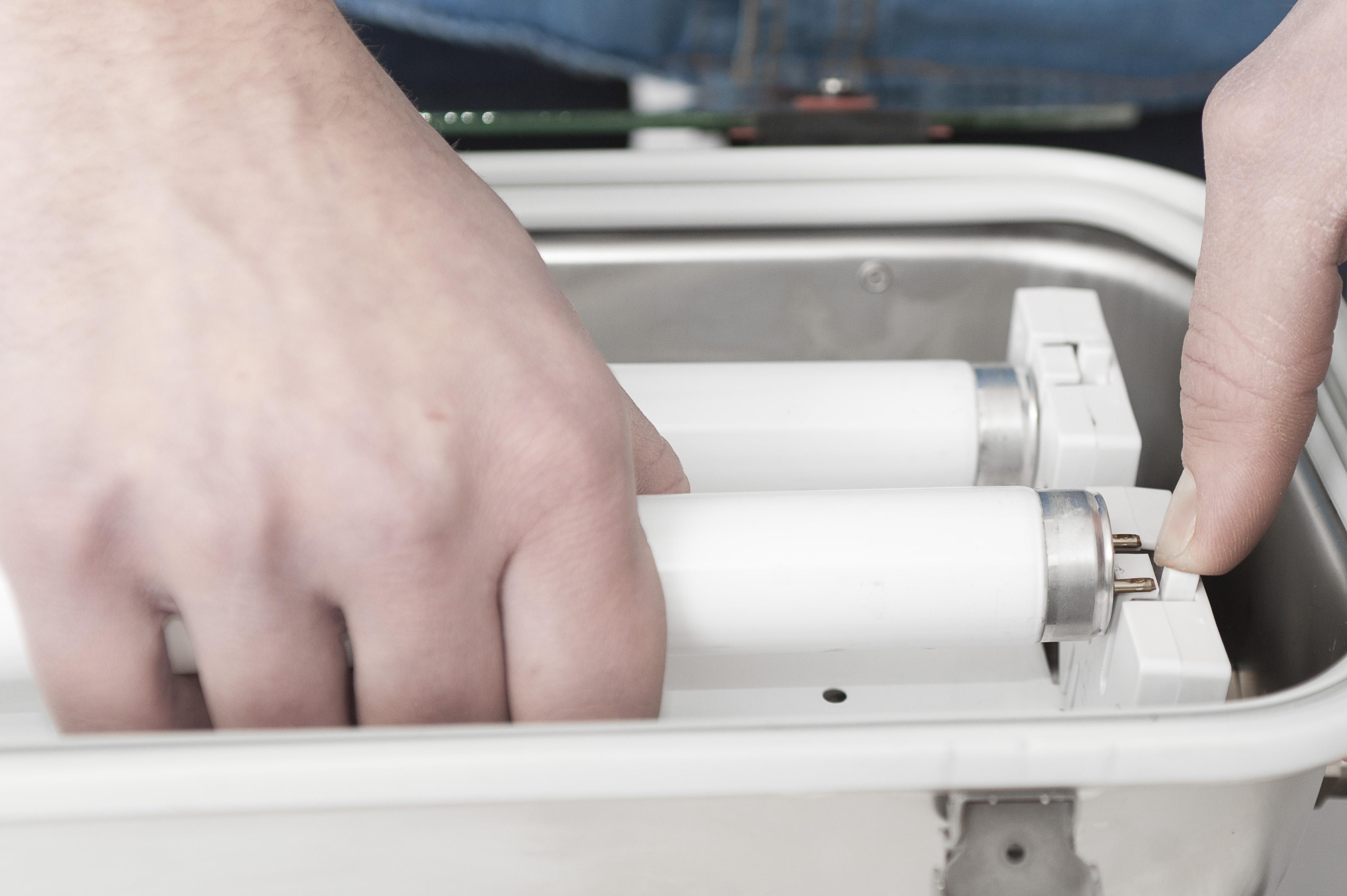 Plafoniere Per Laboratorio : Plafoniere sicure per laboratori e officine elettro