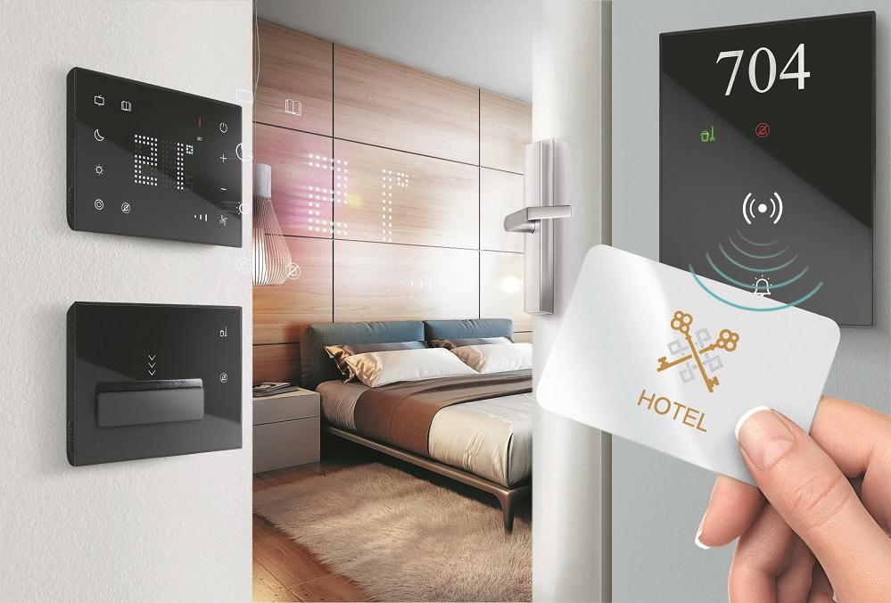 Bticino offerta premium con interfacce touch per il mondo degli hotel