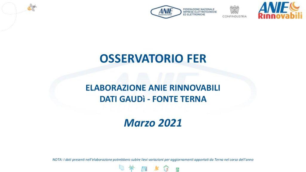Osservatorio FER