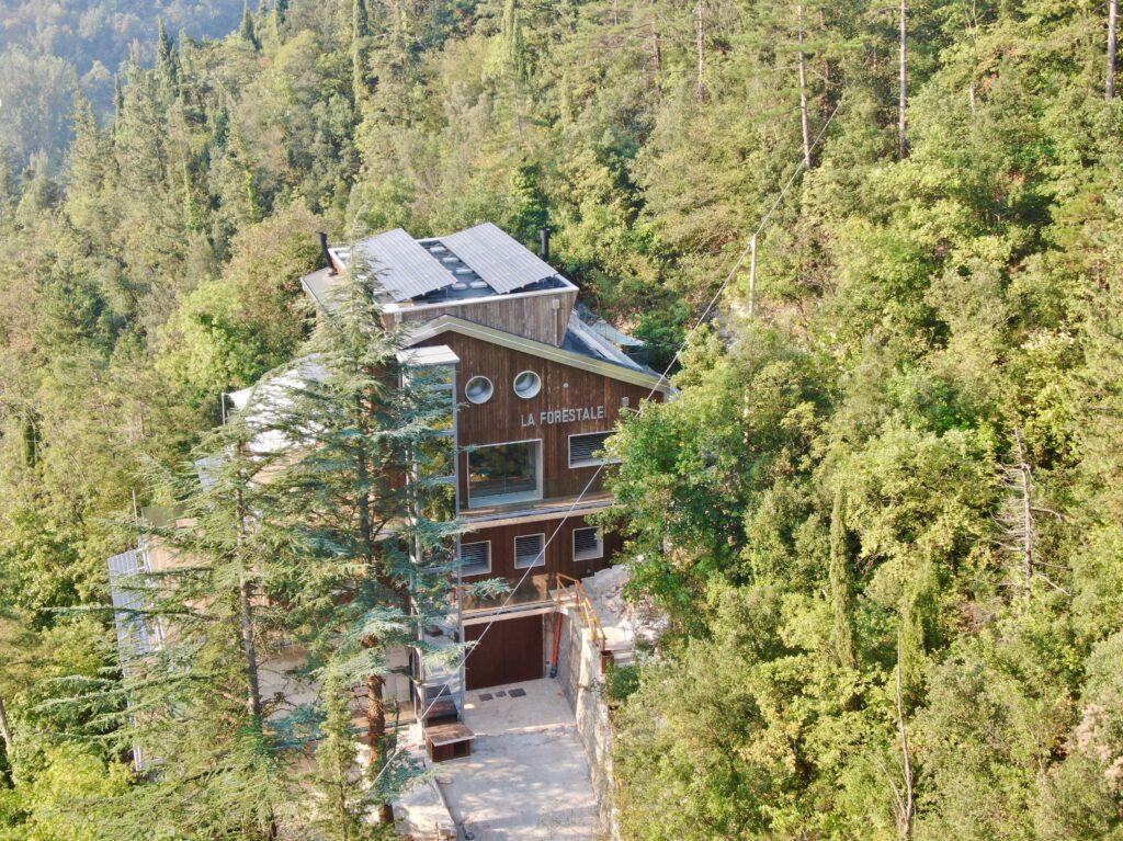 impianto fotovoltaico per La Forestale Luxury Lodge